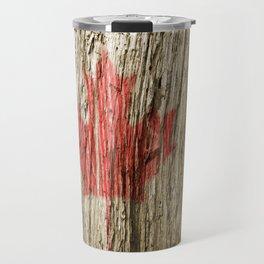 Canada on woods Travel Mug