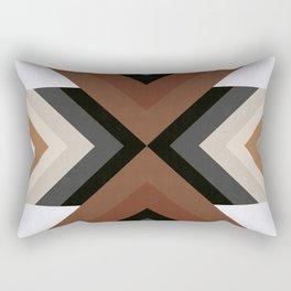 Geometric Art with Bands 05 Rectangular Pillow