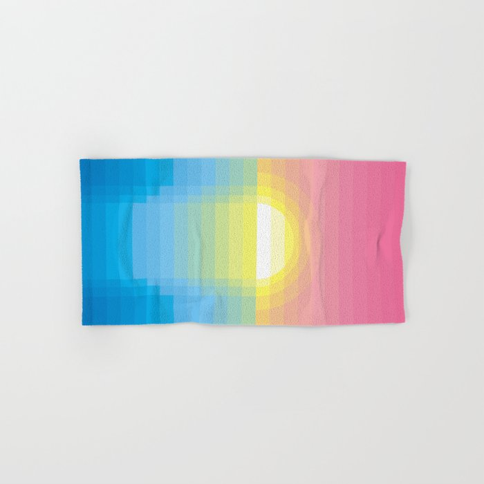 Sunset ~ strips Hand & Bath Towel