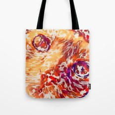 Socca The Cat Expressionism Impressionism  Pop Art Tote Bag