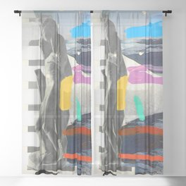 Composition 763 Sheer Curtain