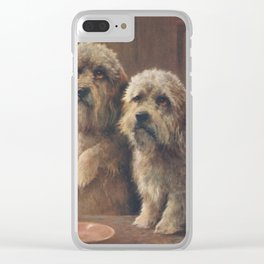 51. Cheviot,  Lilian (1884-1932) - Wonder Book of Pets, The Dandies Clear iPhone Case