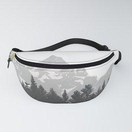 mountain fog Fanny Pack