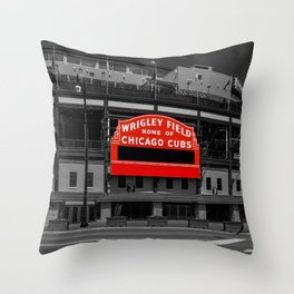 Read Red Throw Pillow