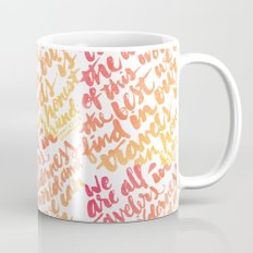 We are all travelers... Mug