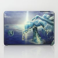 mermaids iPad Cases featuring Mermaids by Angela Schmidt Gallery