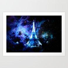 paRis galaxy dreams Art Print