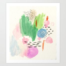 Tranquil Abstracts Art Print