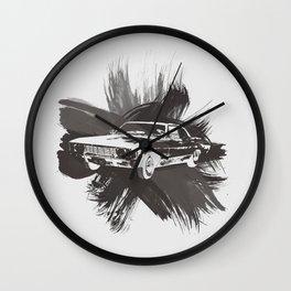 Watercolor Impala Wall Clock