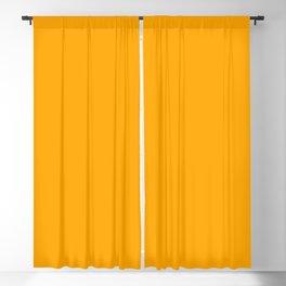 Yellow Orange Blackout Curtain