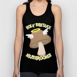 Holy Shiitake Mushrooms Unisex Tank Top