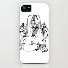 Chinnamasta - Hindu Goddess of Transformation iPhone Case
