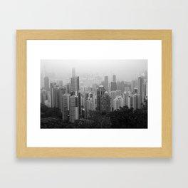 Hong Kong Island Framed Art Print