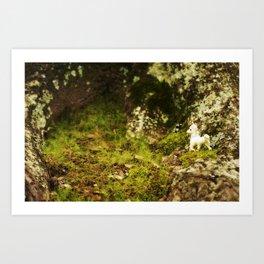 Unicorn Sighting #1 Art Print