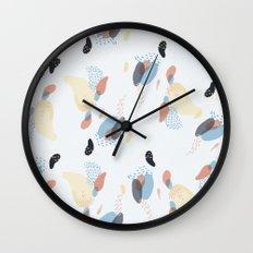 downy flake Wall Clock