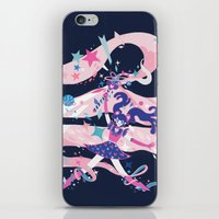 magical girl iPhone & iPod Skins featuring magical girl by Kyungmi Park