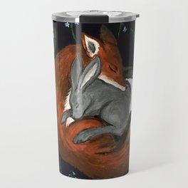 Foxgloves and Harebells Travel Mug