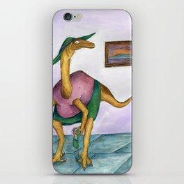 Dressy Dinosaur - Shirley iPhone Skin