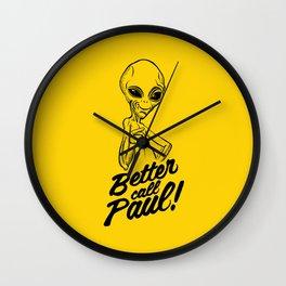 Better call Paul Wall Clock