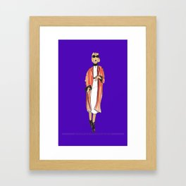 Fashion Drawing Series 1, Pinales Illustrated Framed Art Print