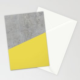 Concrete and Meadowlark Color Stationery Cards