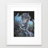 marie antoinette Framed Art Prints featuring Marie Antoinette by Christina Hess