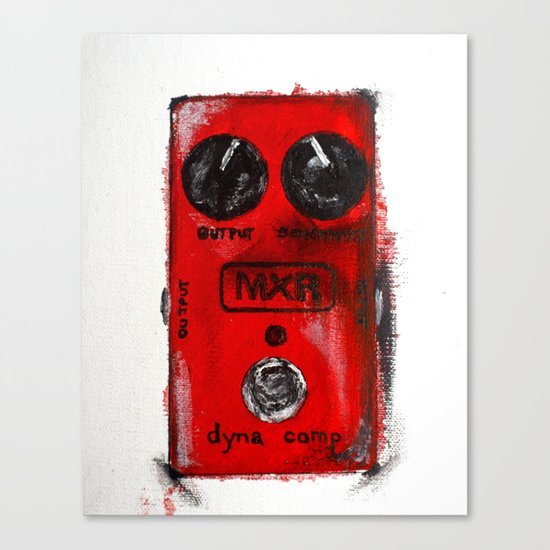 MXR Dyna Comp Canvas Print