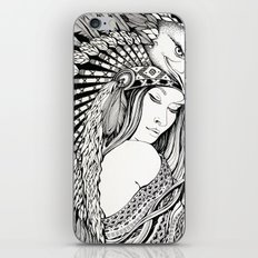 A dream of feathers iPhone & iPod Skin
