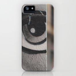 The Eye of Barcelona iPhone Case