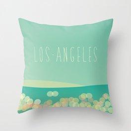 Los Angeles Lights Throw Pillow