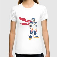 megaman T-shirts featuring Megaman X by JHTY