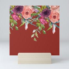Boho Soul Floral Mini Art Print