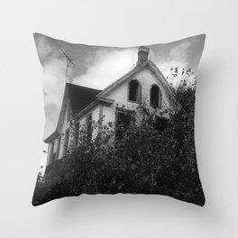House but Not a Home Throw Pillow