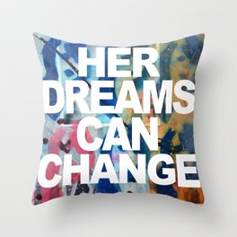 Kate #4 Throw Pillow