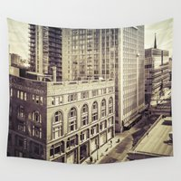 toronto Wall Tapestries featuring Toronto I by Hraun Photography
