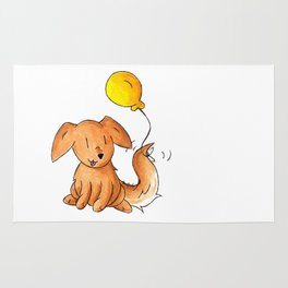 Balloon Doggy Rug