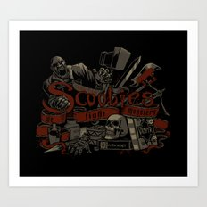 Scoobies Art Print