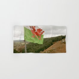 Top of the Hill Welsh Flag Hand & Bath Towel