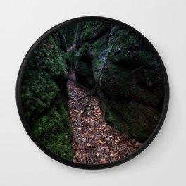 Drachenschlucht Gorge Wall Clock