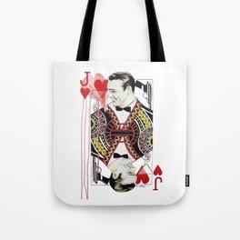 James Bond of Hearts Tote Bag