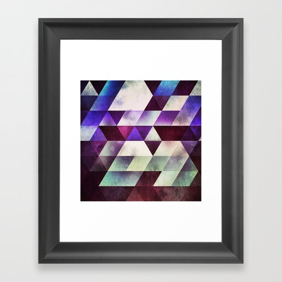myll fyll Framed Art Print
