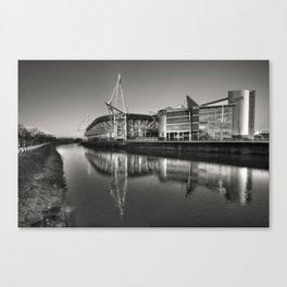 Millennium Stadium Cardiff   Canvas Print