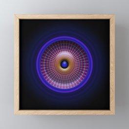 Eye On Time Framed Mini Art Print