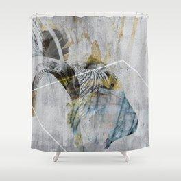 Iris_01a Shower Curtain