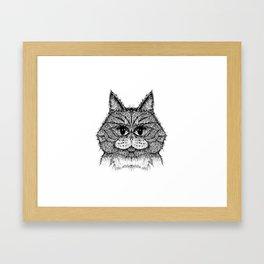 cat 7 Framed Art Print