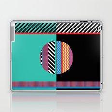 Geometric Full Moon Laptop & iPad Skin