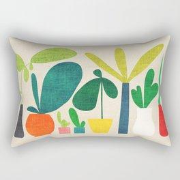Greens Rectangular Pillow
