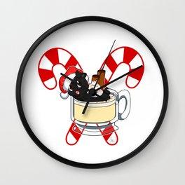 Pug Nog Wall Clock
