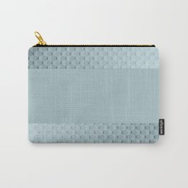 Blue mother of pearl Carry-All Pouch