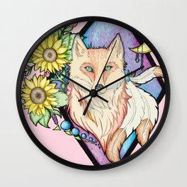Cunning Trickster Wall Clock